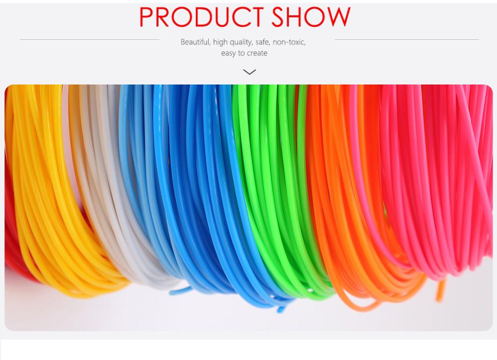Matériel écologique-6.jpg de filament d'impression de stylo d'imprimante 3D de 1.75mm ABS