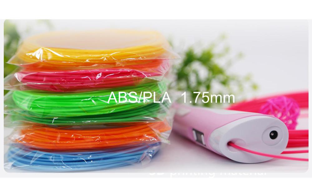 Matériel écologique-10.jpg de filament d'impression de stylo d'imprimante 3D de 1.75mm ABS