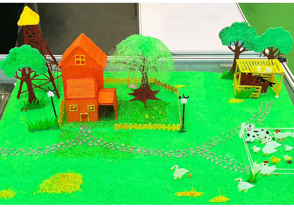 Matériel écologique-14.jpg de filament d'impression de stylo d'imprimante 3D de 1.75mm ABS
