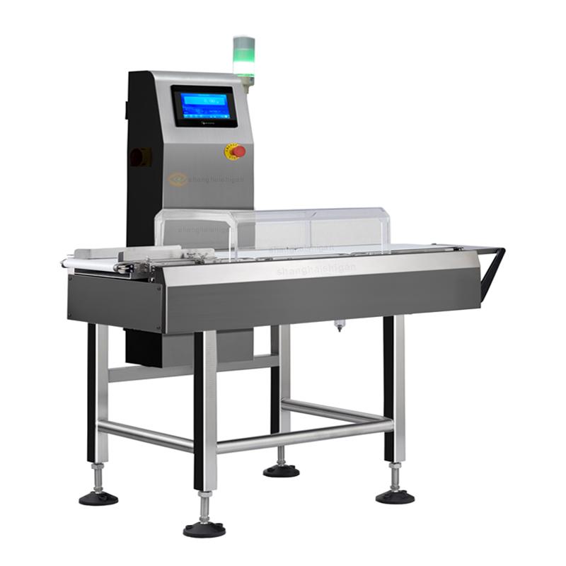 fábrica de pesadora de control de clasificación de verificación de peso dinámico